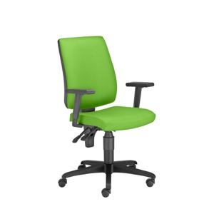 NOWY STYL Taktik Activ 1 kancelárska stolička s podrúčkami zelená / čierna