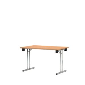 NOWY STYL Eryk 200 písací stôl buk svetlý / chróm