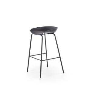 HALMAR H-94 barová stolička čierna