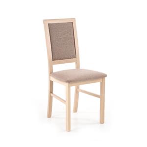 HALMAR Sylwek 1 BIS jedálenská stolička dub sonoma / hnedá