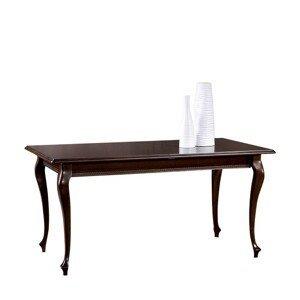 TARANKO Verona V-4 rustikálny rozkladací jedálenský stôl hnedá