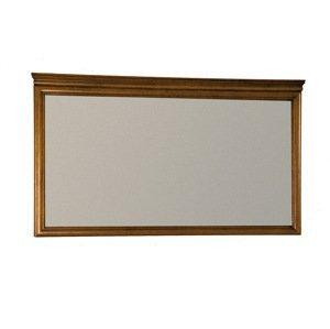 TARANKO Zefir Z-L1 rustikálne zrkadlo na stenu toffi