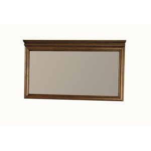 TARANKO Zefir Z-L2 rustikálne zrkadlo na stenu toffi