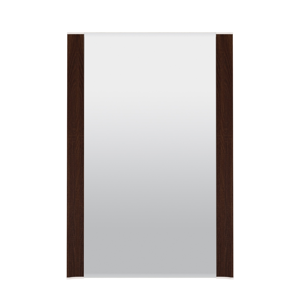 ML MEBLE Ksawery 7 zrkadlo na stenu sonoma tmavá