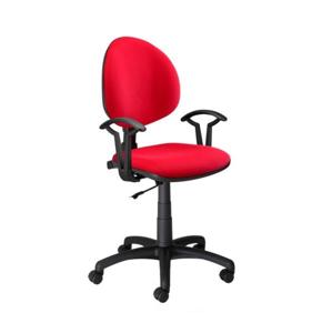 NOWY STYL Smart detská stolička na kolieskach s podrúčkami červená (M04)
