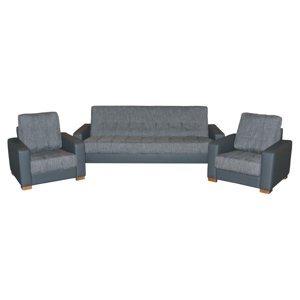 PYKA Vegas 3R+1+1 rozkladacia sedacia súprava magma gray / šedá