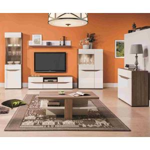 BOG-FRAN Lionel obývacia izba dub sonoma truflový / biela