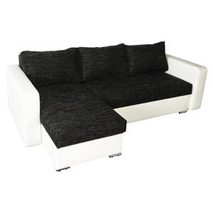 WIP Aleksander L/P rohová sedačka s rozkladom biela / berlin 02