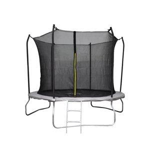 NABBI Skyper trampolína 305 cm čierna / sivá