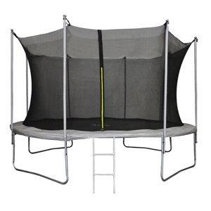 NABBI Skyper trampolína 427 cm čierna / sivá