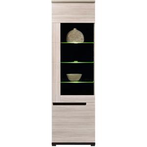 BOG-FRAN Denis DS 6 vitrína s osvetlením brest