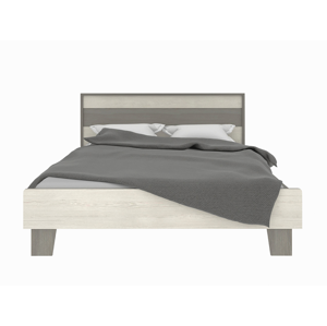 NABBI Salernes SR6 140 manželská posteľ s roštom pino aurelio / madagascar / nelson