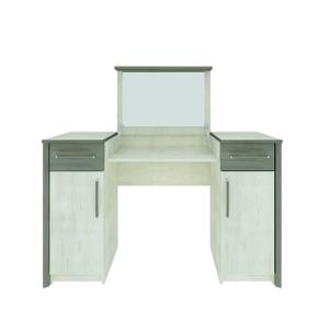 NABBI Salernes SR3 toaletný stolík so zrkadlom pino aurelio / madagascar / nelson