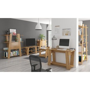 MEBLOCROSS Via obývacia izba dub artisan