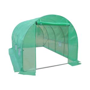 NABBI Greenhouse záhradný fóliovník 450x300x200 cm zelená