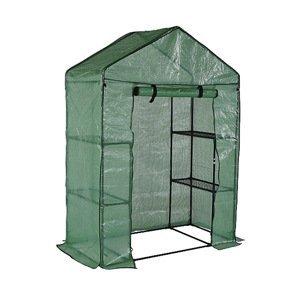 NABBI Greenshelf balkónový fóliovník 70x140x200 cm zelená