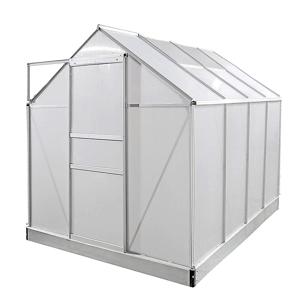 NABBI Glasshouse záhradný skleník 250x190x195 cm priehľadná