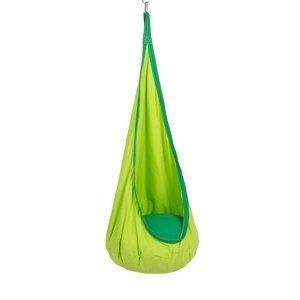 KONDELA Siesta Typ 1 závesné hojdacie kreslo zelená