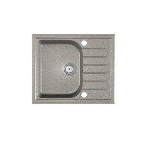HALMAR Alaros granitový kuchynský drez sivá