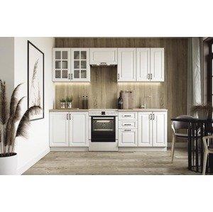 HALMAR Elizabeth 240 kuchyňa biela / dub sonoma