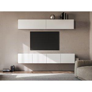 NABBI Mellby 200 obývacia stena biela