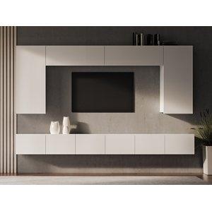 NABBI Mellby 300 obývacia stena biela
