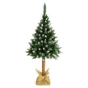 NABBI Christee 5 vianočný stromček na pni 160 cm zelená / biela