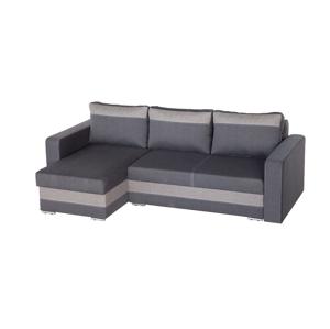 WIP Aleksander L/P rohová sedačka s rozkladom šedá (inari 96) / sivá (inari 90)
