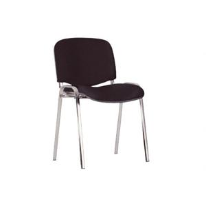 NOWY STYL Iso Chróm konferenčná stolička chrómová / čierna (C11)