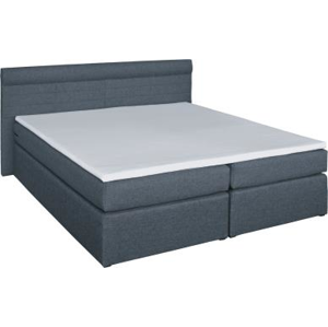 RENAR Torino 180 čalúnená manželská posteľ s matracmi grafit