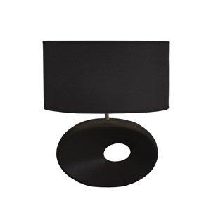 TEMPO KONDELA Qenny Typ 10 stolná lampa čierna