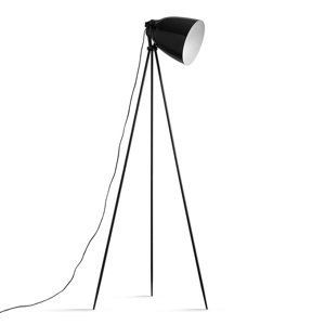 TEMPO KONDELA Cinda Typ 5 YF6249 stojacia lampa čierna / bronzová